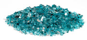 "American Fire Glass - Azuria 1/2"" Glass - AFF-AZBL12-10 3"