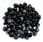 American Fire Glass - Black Diamond Zircon Lusters - ZIR-BLKDMDLST-10-J