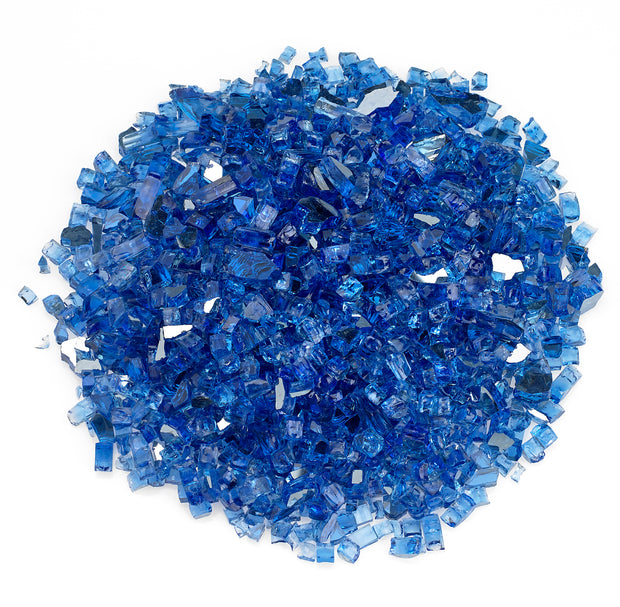 American Fire Glass - Cobalt Reflective Glass - AFF-COBLRF-10