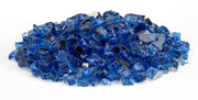 "American Fire Glass - Cobalt Reflective 1/2"" Glass - AFF-COBLRF12-10 _2"