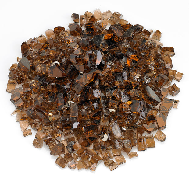 "American Fire Glass - Copper Reflective 1/2"" Glass - AFF-COPRF12-10  _"