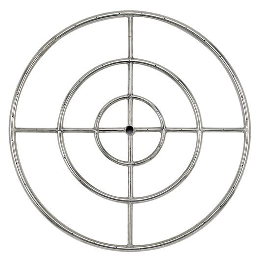 "American Fire Glass - 30"" Fire Ring - SS-FR-30"