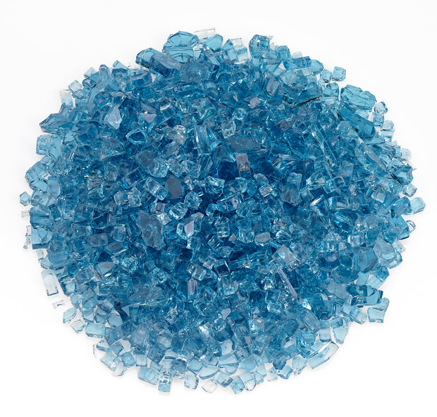 American Fire Glass - Pacific Blue Glass - AFF-PABL-10-J
