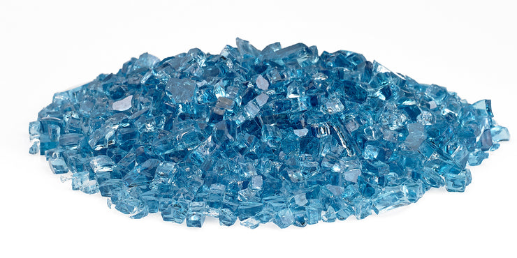 American Fire Glass - Pacific Blue Glass - AFF-PABL-10-J 2