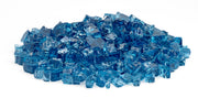 "American Fire Glass - Pacific Blue 1/2"" Glass - AFF-PABL12-10 _ 2"