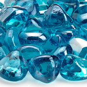 American Fire Glass - Powder Blue Zircon Lusters - ZIR-PWDBLLST-10 _3