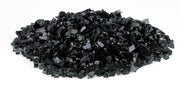 "American Fire Glass - 1/4"" Black Glass - AFF-BLK-10-J 3"