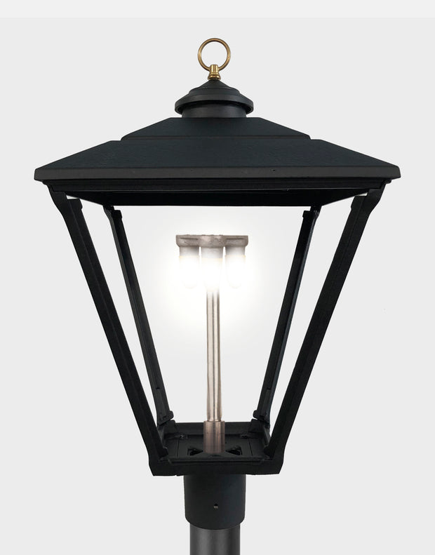 The Baldwin Post Mount Gas Light - 3800H