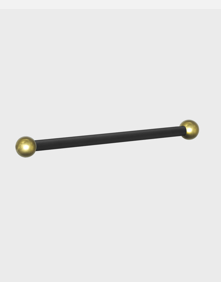 Black Ladder Rest with Gold Balls - LR1GB 2