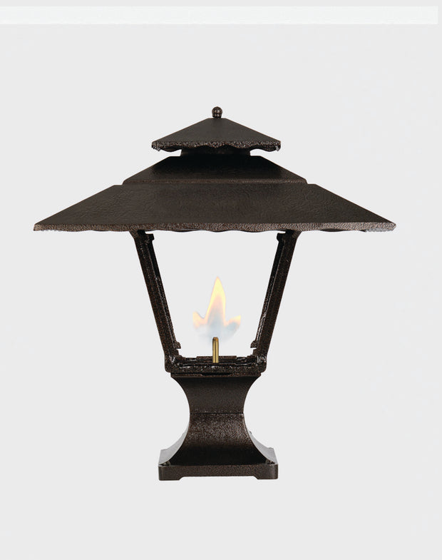Contemporary Pier Mount Gas Light - 1800R