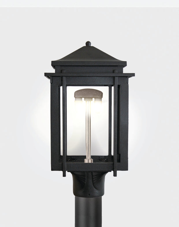 The Craftsman Post Mounted Gas Light - 1100H