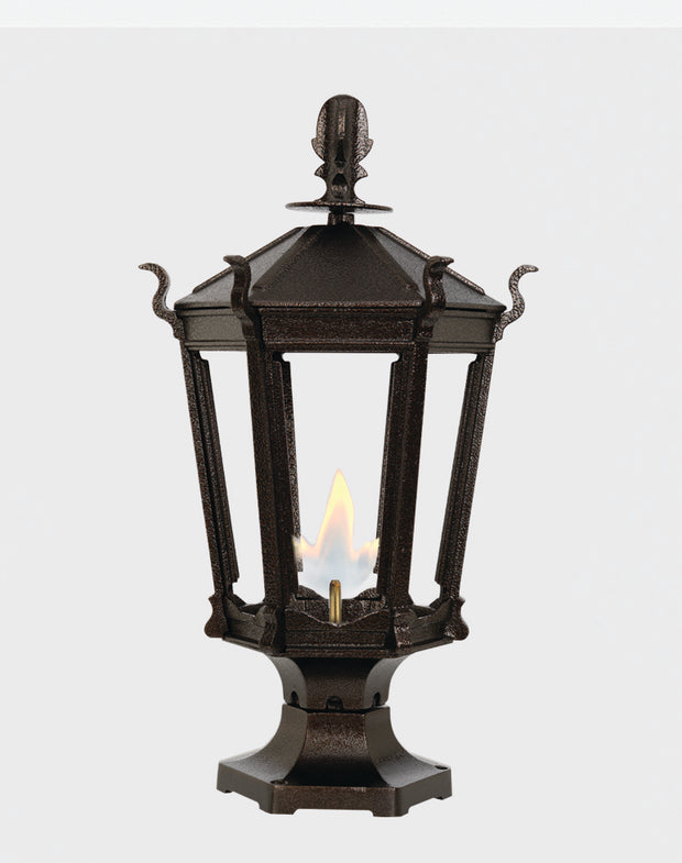 Gothic Pier Mounted Gas LIghts 2900R