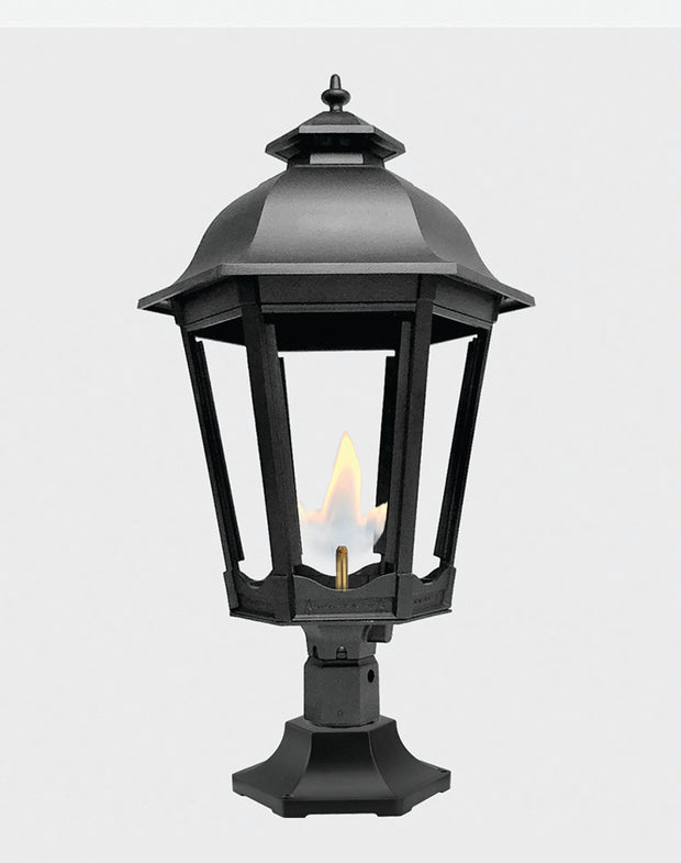 The Grand Bavarian Pier Mount Gas Light - 3200R
