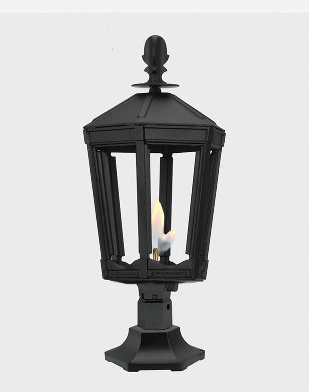 The Grand Vienna Pier Mounted Gas Light - 3100R