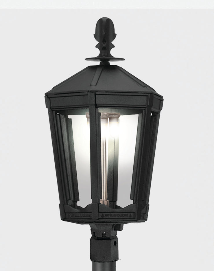 The Grand Vienna Post Mount Gas Light - 3100H