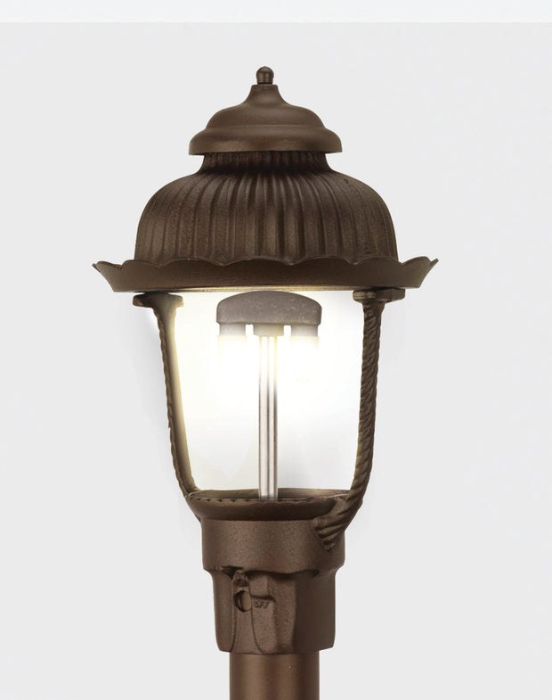 Heritage Post Mount Gas Light 1700H