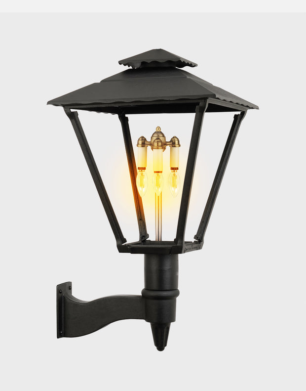Old Allegheny Wall Mount Gas Light - 3701W