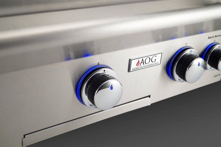 AOG Grills - 24NBL-00SP Built-in Grill - 2