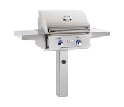 AOG Grills - 24NGL-00SP - Post Mount Grill -