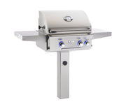 AOG Grills - 24NGL - Post Mount L Series Grill -