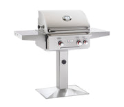 AOG Grills - 24NPT Patio Post Mount Grill -