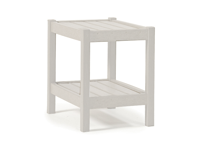Breezesta - Adirondack Accent Table - White