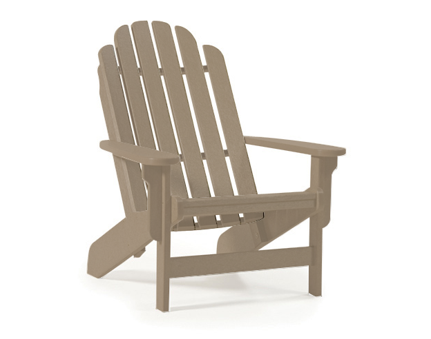 Breezesta - Shoreline Adirondack Chair - Weatherwood