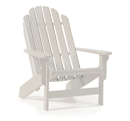 Breezesta - Shoreline Adirondack Chair - White