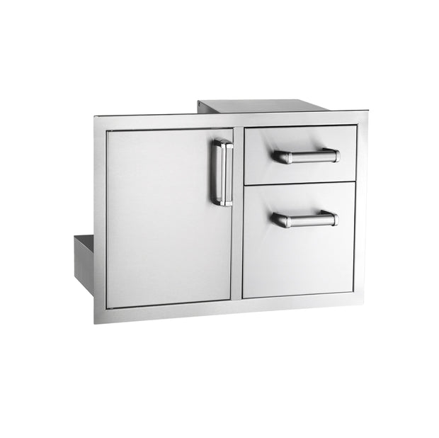 Fire Magic - Premium - Double Drawers w/ Trash Drawer