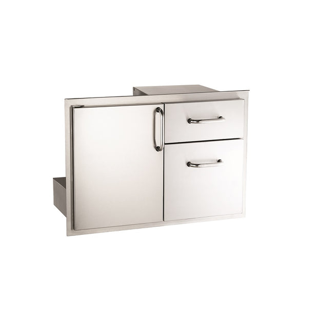 Fire Magic - 33810S - Double Door w/ Drawers