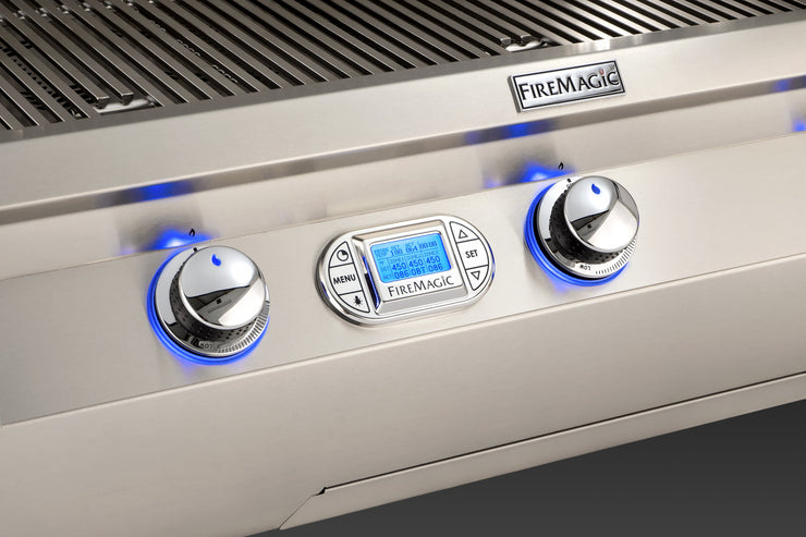 "Fire Magic - Echelon Diamond 36"" E790i Built-in Grill Digital - 4"