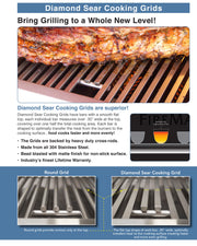 "Fire Magic - Echelon Diamond 36"" E790i Built-in Grill Digital - 17"