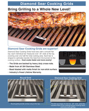 "Fire Magic - 48"" Echelon Diamond Built-in Grill - 17"