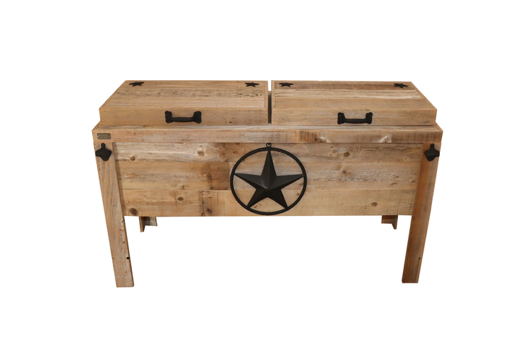 Haggards Rustic Double Cooler with Steel Star