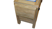Haggards Rustic Single Cooler Side Shelf