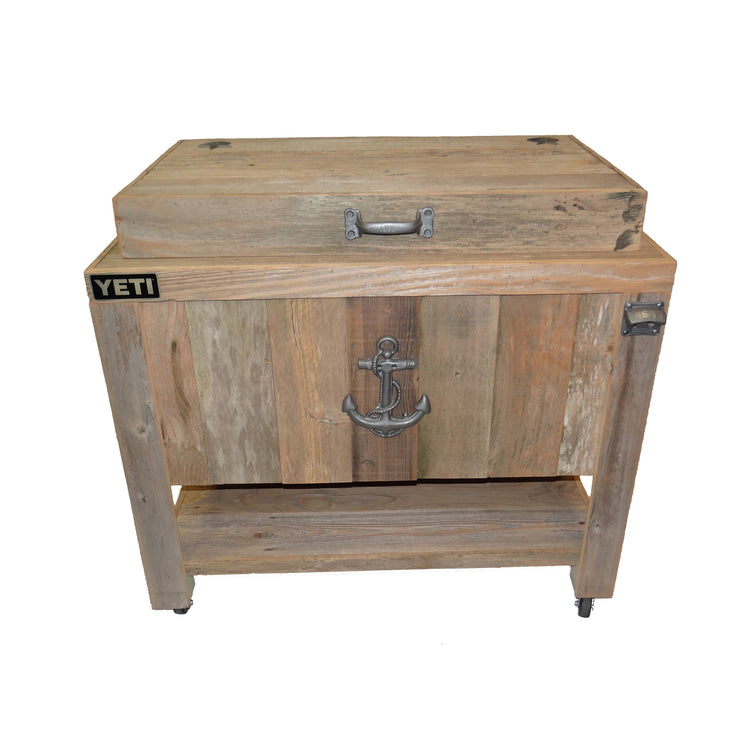 Rustic Yeti 65 Outdoor Cooler with Sea Anchor
