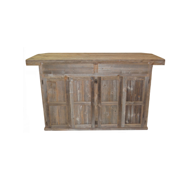 Outdoor Rustic Bar with Star - 2