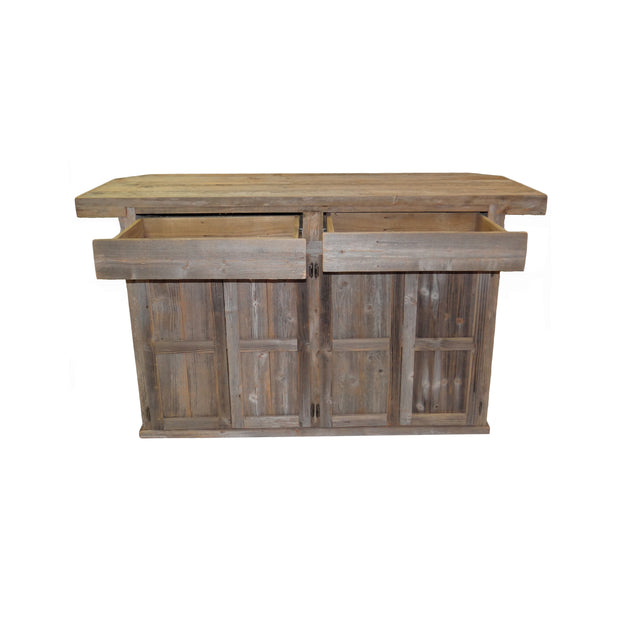 Outdoor Rustic Bar with Star - 4