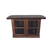 Outdoor Rustic Wine Barrel Bar - hrbawb000b 2