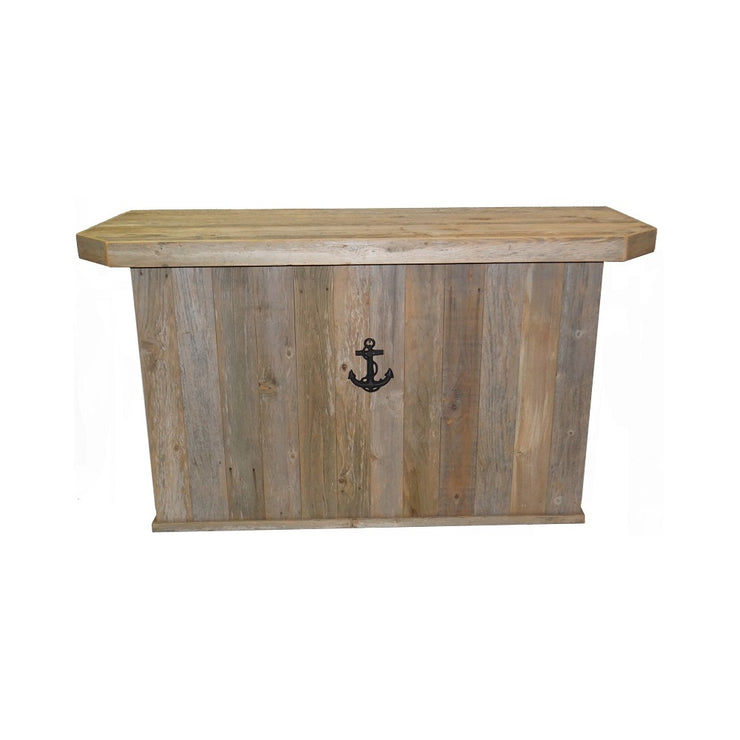 Outdoor Rustic Bar w/ sea anchor -