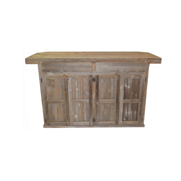 Outdoor Rustic Bar w/ sea anchor - 2