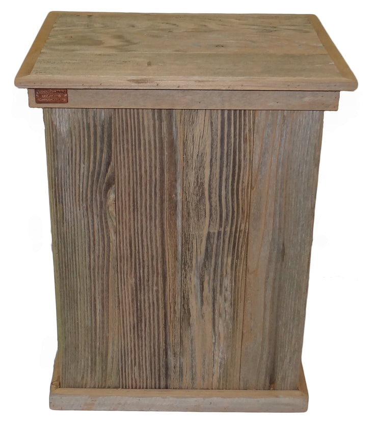 Rustic Single Trash Can Tres Hombres - HRTCSI008B 2