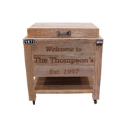 Yeti 45 Rustic Cooler 3 Engraved Lines