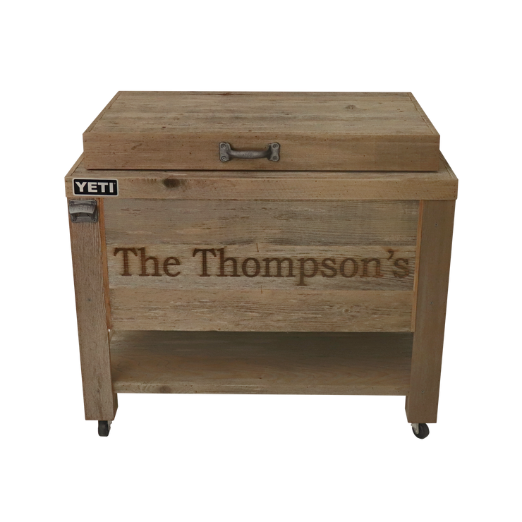 Yeti 65 Rustic Cooler 1 Engraved Line