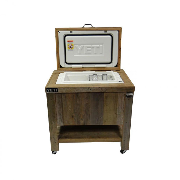 Yeti 65 Rustic Cooler - 3 Engraved Lines 3