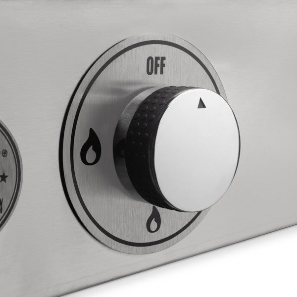 Control Knobs on the GFE75 Le Griddle