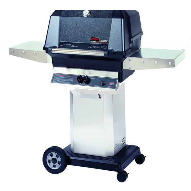 MHP Grills - WNK on Stainless Portable Cart