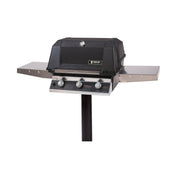 MHP Grills - Hybrid Grill on In-Ground Post