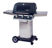 MHP Grills - W3G Tri-Cast Grill on Stainless Cart