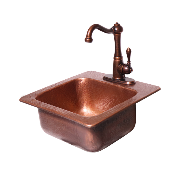 RCS Grills - Copper Sink - RSNK3 2